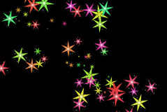 Sterrige Sterrige Nacht vector illustratie