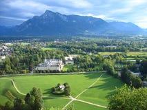 Österrike landskap salzburg Royaltyfri Fotografi