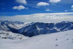 österrikiska alps Arkivfoton