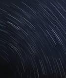 Sterslepen bij de donkerblauwe hemel Royalty-vrije Stock Afbeeldingen