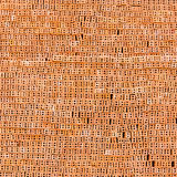 Stert czerwone cegły obraz stock