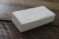 Sterta Białe Twarzowe tkanki Zdjęcie Royalty Free
