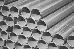 Sterta budowa metalu drymby Zdjęcia Royalty Free