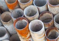 Sterta budowa metalu drymby Zdjęcia Stock