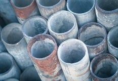 Sterta budowa metalu drymby Obrazy Royalty Free