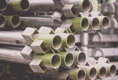 Sterta budowa metalu drymby Fotografia Royalty Free