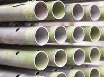 Sterta budowa metalu drymby Fotografia Stock