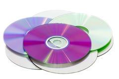 Sterta cd roms zdjęcie stock