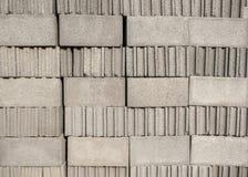 Sterta cementowi bloki Obrazy Royalty Free