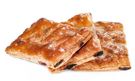 Sterta ciastka lub maseł ciastka odizolowywający na bielu Zdjęcie Royalty Free