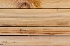 Sterta drewniane deski Obraz Royalty Free