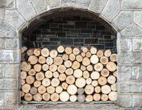 Sterta drewno Fotografia Stock