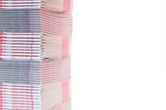 Sterta drukowani materiały - płytki DOF obrazy royalty free