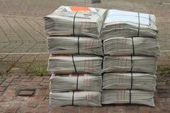 Sterta gazeta Zdjęcie Stock