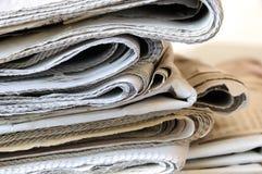 Sterta gazety Zdjęcia Stock