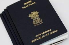 Sterta Indiański paszport fotografia stock