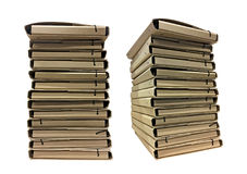 Sterta kartonowe falcówki dla dokumentów Obraz Stock