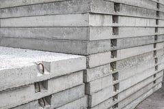 Sterta klasyczni betonowej drogi panel Fotografia Stock