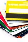 Sterta kredytowe karty Zdjęcia Royalty Free