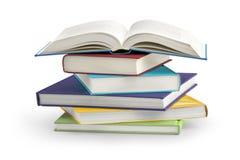Sterta książki zdjęcia stock