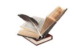 Sterta książki i dutka zdjęcie stock