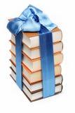 Sterta książki na biel. Zdjęcie Stock