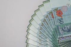 Sterta Malezyjski Ringgit Zdjęcie Stock