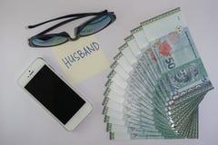 Sterta Malezyjski Ringgit Zdjęcia Royalty Free