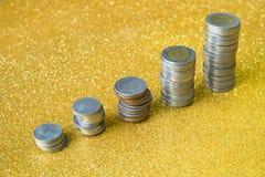 Sterta monety Zdjęcia Stock