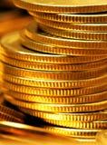 sterta monety złota Obrazy Royalty Free