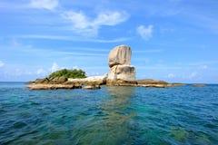 Sterta naturalny duży kamień Fotografia Royalty Free
