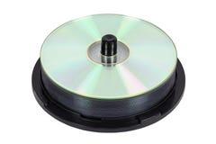 Sterta nowi cd na cewie Obrazy Stock