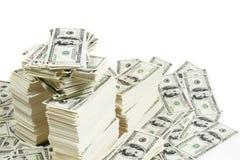 sterta pieniędzy Zdjęcia Royalty Free