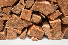Sterta pożarniczy drewno Zdjęcie Stock