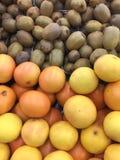 Sterta pomarańcze i kiwi obrazy stock