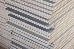 Sterta przemysłowa dykta w budowie Obrazy Stock