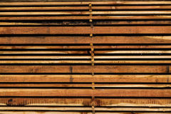 Sterta różnego rozmiaru rżnięty drewno zaszaluje dla budowy Zdjęcia Royalty Free