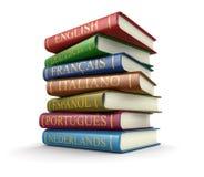 Sterta słowniki (ścinek ścieżka zawierać) Zdjęcia Stock