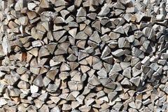 sterta siekana drewna obrazy stock