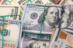 Sterta USA dolary w gotówce obraz stock