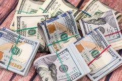 Sterta USA dolary w gotówce obrazy royalty free