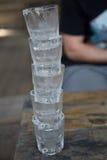 Sterta zimno strzału szkła Obraz Stock