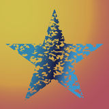 Stertextuur, symboolachtergrond, vector het elementenpictogram van het illustratieontwerp Royalty-vrije Stock Foto's