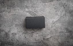 Sterty czarne wizytówki Zdjęcia Stock