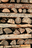 sterty drewno Obraz Stock