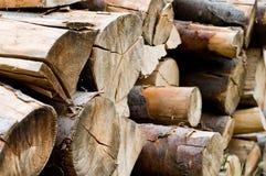 sterty drewno Zdjęcie Stock