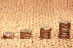 Sterty monety Obraz Royalty Free