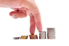Sterty monety Zdjęcie Stock