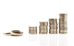 Sterty monety zdjęcie royalty free