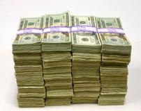 sterty pieniędzy obrazy royalty free